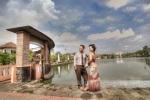 foto prewedding berkebaya lokasi polder tawang